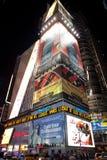 Times Square la nuit Photo libre de droits