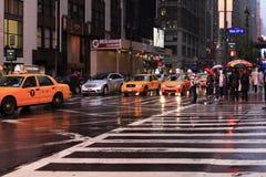 Times Square - Manhattan Arkivfoton