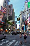 Times Square, Manhattan royalty-vrije stock fotografie
