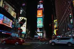 Times Square Manhattan Fotos de Stock