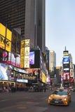 Times Square, Manhattan, el 20 de noviembre de 2015, Nueva York, los E.E.U.U. Imágenes de archivo libres de regalías
