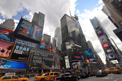 Times Square, Manhattan, New York City Royalty Free Stock Image