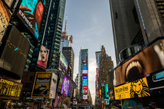 Times Square, Manhattan, New York City Imagens de Stock
