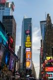 Times Square, Manhattan, New York City Fotos de Stock Royalty Free