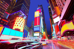Times Square Manhattan New York deleted ads royalty free stock image