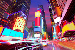 Times Square Manhattan New York deleted ads. Times Square Manhattan New York all the ads deleted US royalty free stock photos