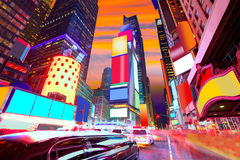 Times Square Manhattan New York deleted ads royalty free stock photos