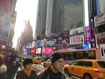 Times Square. In Times Square, Manhattan, New York stock photos