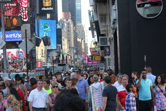 Times Square Manhattan New York stock photography