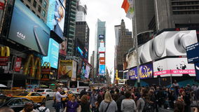 Times Square in Manhattan, New York Stock Images