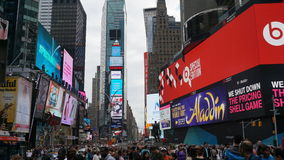 Times Square in Manhattan, New York Royalty Free Stock Photo