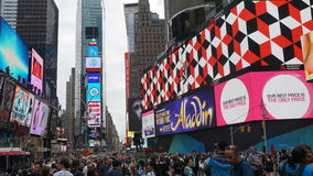 Times Square in Manhattan, New York Royalty Free Stock Image