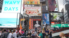 Times Square in Manhattan, New York Stock Photo