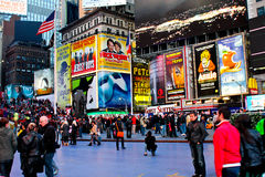 Times Square, Manhattan NYC Stock Image