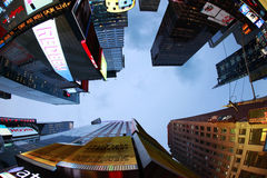 Times Square. Miasto Nowy Jork Zdjęcia Royalty Free