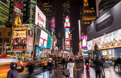 Times Square. The modern architecture of Times Square in Manhattan, New York, USA stock photos