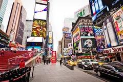 Times Square am Morgen Lizenzfreies Stockbild