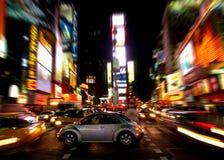 Times Square na noite #2 Imagem de Stock Royalty Free