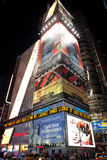 Times Square na noite foto de stock royalty free
