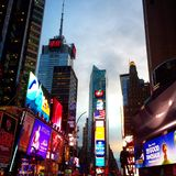 Times Square. In Neon Lights Royalty Free Stock Photography