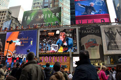 Times Square on New Year's Eve Stock Images