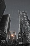 Times Square Before New Year's Eve, 2014 Stock Image