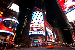 Times Square, New York. Street night life stock photo