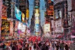 Times Square New York Lizenzfreie Stockfotos