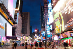 Times Square New York Fotografia de Stock Royalty Free