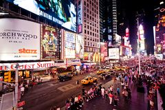 Times Square, New York Stock Image