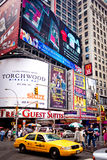 Times Square, New York. Times Square featured with Broadway Theaters and animated LED signs is a symbol of New York City and the United States, July 2, 2011 in royalty free stock photos