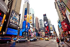 Times Square, New York. Times Square featured with Broadway Theaters and animated LED signs is a symbol of New York City and the United States, July 2, 2011 in stock photography