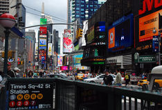 Times, Square, New York Royalty Free Stock Image
