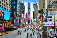 Times Square New York photo libre de droits