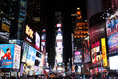 Times Square, New York Photographie stock libre de droits