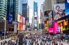 Times Square, New York Foto de Stock Royalty Free