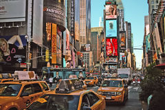 Times Square New York Fotografia de Stock