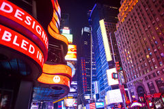 Times Square New York Fotografie Stock Libere da Diritti