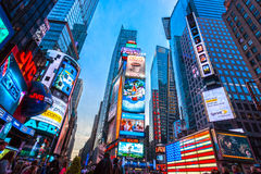 Times Square New York Royaltyfri Fotografi