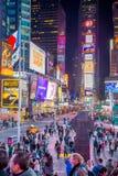 Times Square New York Fotos de Stock Royalty Free