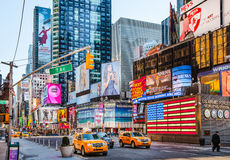 Times Square New York Photos libres de droits