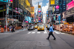 Times Square in New York Royalty-vrije Stock Afbeelding