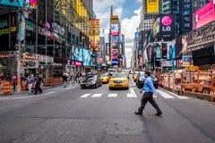 Times Square in New York Lizenzfreies Stockbild