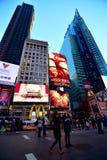 Times Square New York Lizenzfreies Stockbild