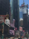 Times Square in New York lizenzfreies stockfoto