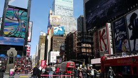 Times Square New York Fotografia Stock