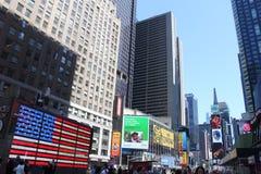 Times Square - New York Fotografering för Bildbyråer