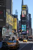 Times Square - New York Royaltyfria Bilder