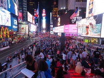 Times Square New York Imagem de Stock