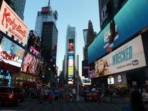 TIMES SQUARE NEW YORK Immagine Stock Libera da Diritti